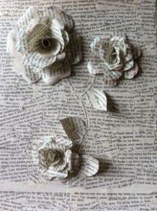 handmade roses