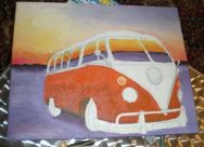 camper van painting (unfinished)