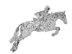 jocky on horse