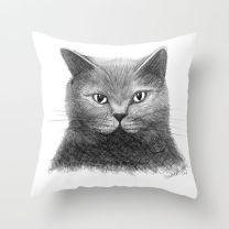 Grey Cat Sketch