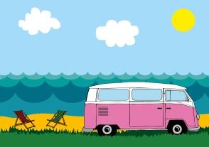 Camper van holiday