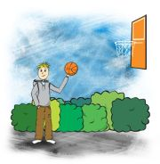 Bit of basket ball