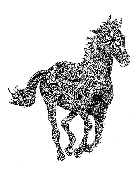 horserunning 10x8