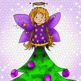 Fairy on the tree