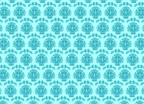 Turquoise A4 PATTERN 01