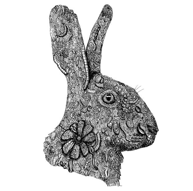 rabbit-15cmx15cm